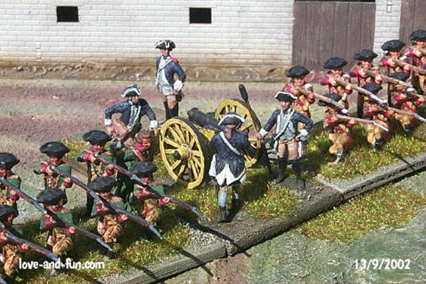 Captain Nathaniel Smith's 1st Company of Maryland Artillery ca. 1776