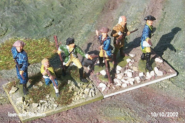 George Washington's Army, 1:72 Figuren IMEX 511