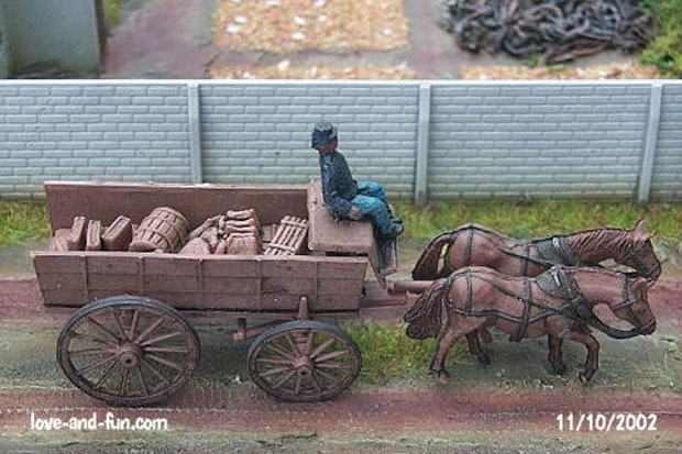 Munitions Wagon, 1:72 Figuren IMEX 514