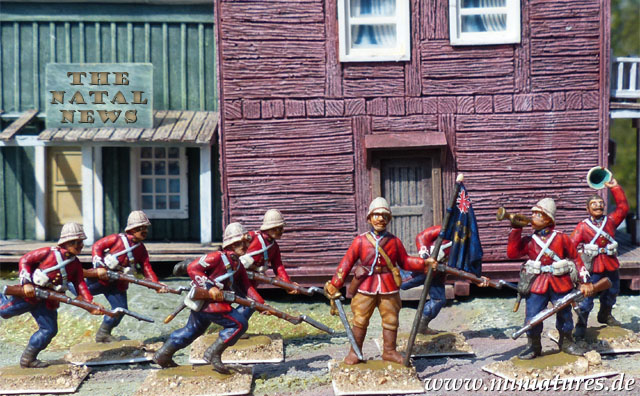 2nd Battalion, 4th (The King's Own Royal) Regiment of Foot, 1:72 Figuren ESCI P-212