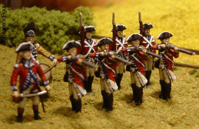 Revell Britische Infanterie of the American Revolutionary War