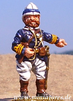 Commander, 25 mm Zinnfigur Essex Miniatures CO33
