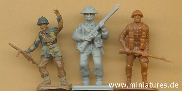 ESCI - Valiant Miniatures – Revell scale comparison