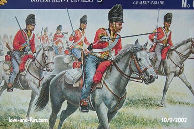 2nd (Royal North British) Dragoons (Greys) 1812–1815, 1:72 Figuren Italeri 6001