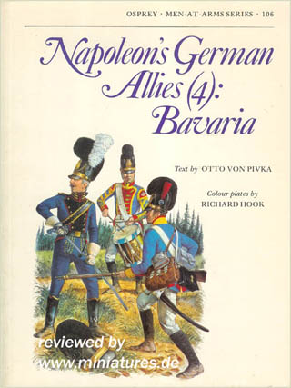 Napoleon's German Allies (4): Bavaria, Osprey Men-At-Arms Series 106