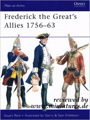Frederick the Great's Allies 1756–63, Stuart Reid, Osprey Men-at-Arms 460