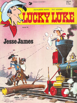 Luke Luke Band 38: Jesse James