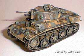 Hungarian 38.M Toldi I light tank