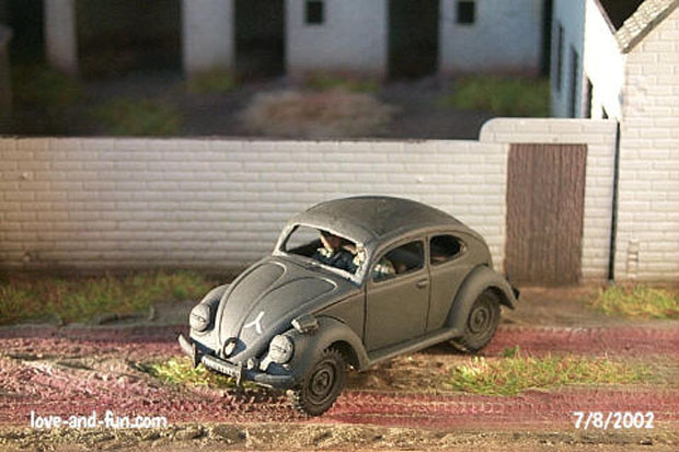 VW Typ 60 Sedan, 1:72 Modellbau Military Wheels 7201