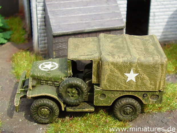 Dodge Weapons Carrier (Beep), 1:87 H0 Modellbau ROCO 252