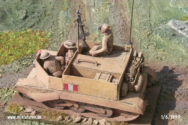 Universal Carrier belonging to a Carrier Section of the Recce Squadron