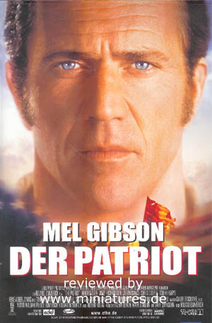 Der Patriot, ein Film von Roland Emmerich, mit Mel Gibson, Heath Ledger, Joely Richardson