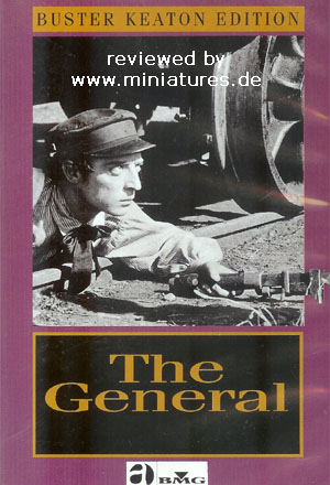The General, ein Film von Buster Keaton, Clyde Bruckman, mit Buster Keaton, Marion Mack, Glen Cavender, Jim Farley, Frederick Vroom, Charles Henry Smith
