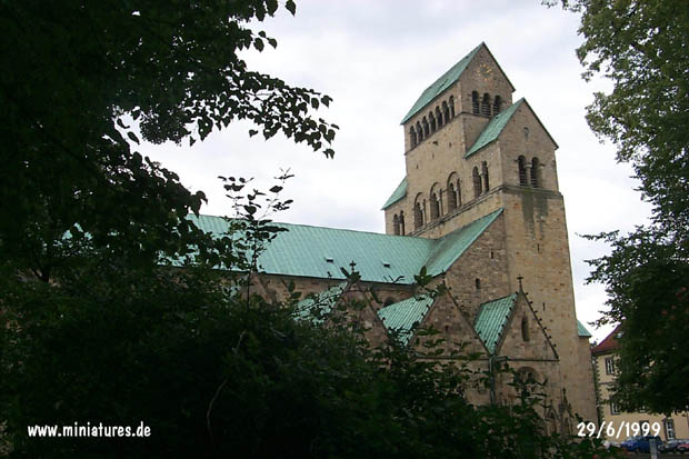 Hildesheim Cathedral Tower