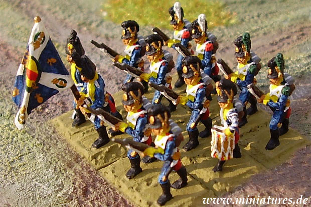 Voltigeure, 15 mm Zinnfiguren Jacobite Miniatures