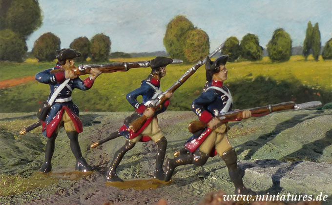 Infanterie-Regiment von Wutginau (Nr. 5), 40 mm Figuren Prince August