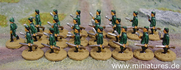 5th Gurkha rifle platoon for The Sword and the Flame (TSATF)
