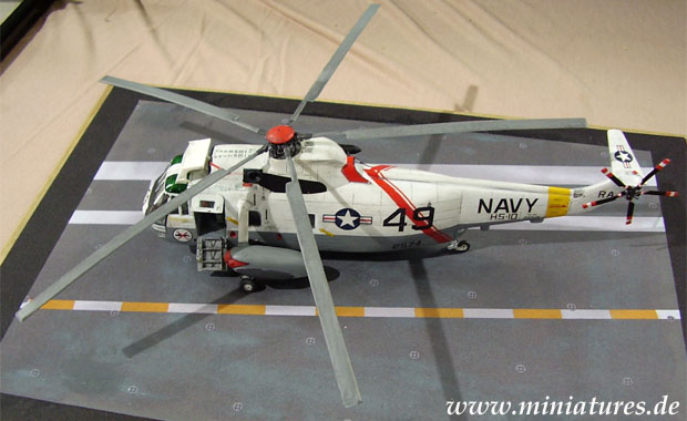 Sikorsky SH-3H Sea King der US Navy, Juli 1981, 1:72 Fujimi