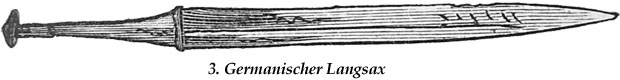 Fig. 3 germanischer Langsax