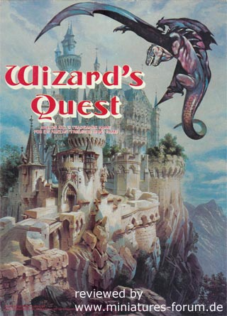 Wizard's Quest Treasure Hunt on the fantastic island of Marnon, by Garrett J. Donner, Avalon Hill