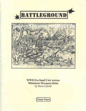 Battleground Wargame Rules by Steve Carroll