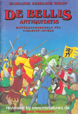 DBA - De Bellis Antiquitatis, Phil Barker, Wargames Research Group