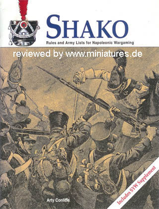 Shako – Rules and Army Lists for Napoleonic Wargaming, by Arty Conliffe